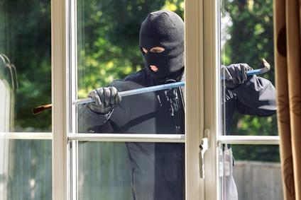 Einbrecher kommen oft am Tag
